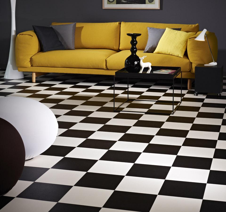 vinylboden wei affordable fabulous luxus aus vinyl mit. Black Bedroom Furniture Sets. Home Design Ideas