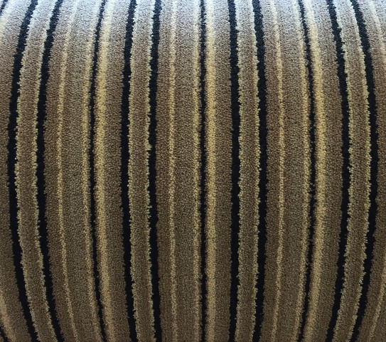 Slate grey balck stripe carpet